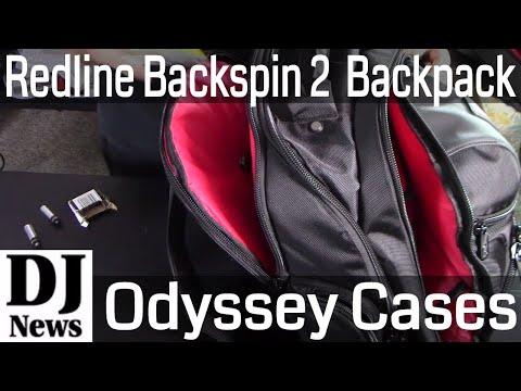 Packing The Redline Backspin 2 DJ BackPack For Laptop Computer Controller Odyssey | Disc Jockey News
