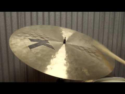 "K Zildjian 20"" Light Flat Ride cymbal 1612g"