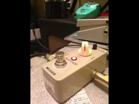 Fuzz pedal test -Mooer Grey Faze(Fuzz Face like)