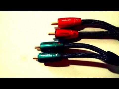Audioquest Evergreen vs Golden Gate RCA cables