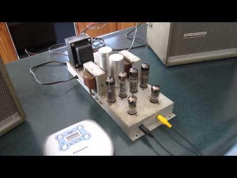 Tube Amplifier 6BQ5/EL84 X 4