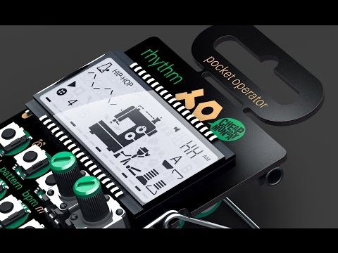 Teenage Engineering PO-12 Rhythm Features