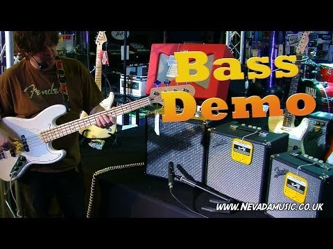 New 2014 Fender Rumble Bass Amps Demo