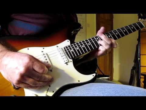 Seymour Duncan Hot Rails Bridge Pickup - USA Fender Strat - Demo with Gain