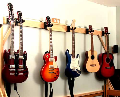 best guitar wall hanger, best guitar hanger, cool guitar hangers